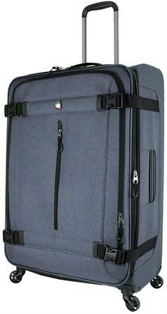 Mia Toro potovalna kovček MNZ Toro M1135/3-L, siv - Odprta embalaža