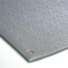 Šedá antistatická ESD protiúnavová průmyslová rohož - 0,9 cm