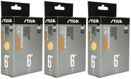 Stiga CUP ABS Orange 18 szt