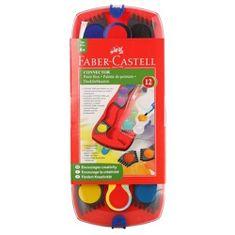 Faber-Castell vodene bojice + kist Connect 12/1