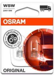 Osram Žárovka typ W5W, 24V, 5W, Standard, 2 ks