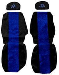 F-CORE Poťahy na sedadlá PS02, modré