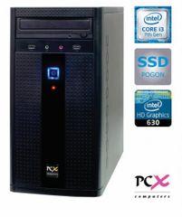 PCX namizni računalnik EXAM F2024 i3-7100/4GB/SSD240GB/FreeDOS (PCX EXAM F2024)