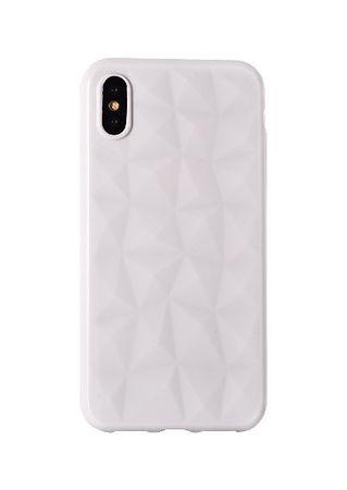 Silikonski ovitek Diamond za iPhone 6/6S, bel