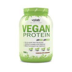 VPLAB proteinski izolat iz graška i konoplje Vegan Protein, čokolada-karamela, 700 g