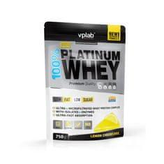 VPLAB proteinski izolat i koncentrat surutke 100% Platinum Whey, cheesecake, 750 g