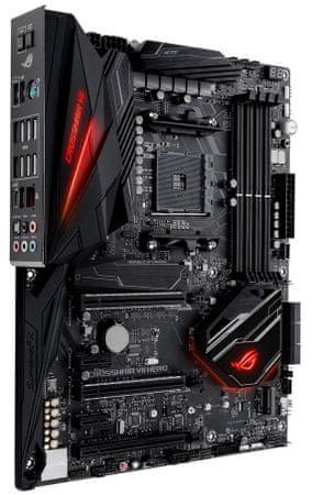 Asus osnovna plošča ROG Crosshair VII Hero X470, DDR4, USB 3.1 Gen2, AM4, ATX