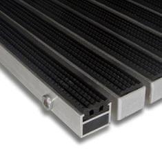 FLOMA Gumová hliníková venkovní vstupní rohož Alu Standard, FLOMA - 2,7 cm