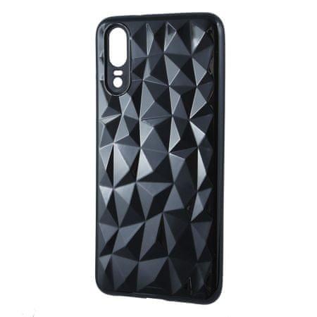 Silikonska maska Diamond za iPhone 7/8, crna