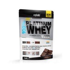 VPLAB proteinski izolat i koncentrat surutke 100% Platinum Whey, čokolada, 750 g
