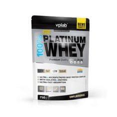 VPLAB beljakovinski izolat in koncentrat iz sirotke 100% Platinum Whey, unflavoured, 750 g