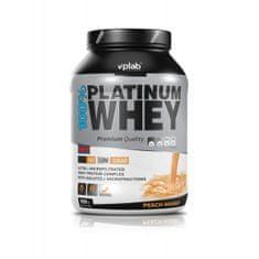 VPLAB proteinski izolat i koncentrat surutke 100% Platinum Whey, mango breskva, 908 g