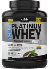 VPLAB proteinski izolat i koncentrat surutke 100% Platinum Whey, čokolada-menta, 2300 g
