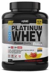VPLAB proteinski izolat i koncentrat surutke 100% Platinum Whey, jagoda-banana, 2300 g
