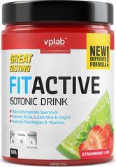 VPLAB izotonični napitak Fit Active, jagoda-limun, 500 g