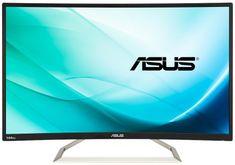 Asus VA326H LCD monitor, 80 cm, 1920x1080, Gaming Curved, VA, 144Hz, D-Sub, DVI, HDMI