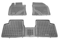 REZAW-PLAST Gumové koberce, súprava 3 ks (2x predné, 1x spojený zadný), Toyota Avensis od r. 2009