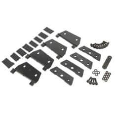 JOPE Montážní kit patky (4 ks), typ střechy: montážní body, pro vozy: BMW řada 1, řada 3, řada 5