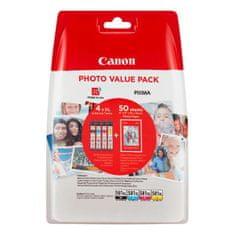 Canon komplet kartuš CLI-581 XL + foto papir PP-201