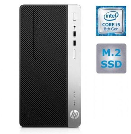 HP namizni računalnik ProDesk 400 G5 MT i5-8500/8GB/SSD256GB/W10P (4CZ29EA#BED)