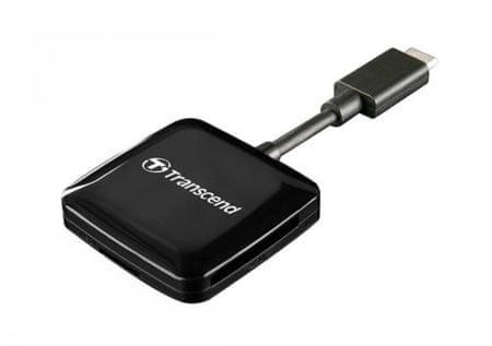 Transcend čitalec kartic RDC2, USB Type-C
