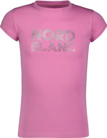 Nordblanc Koszulka dziewczęca Spil 122/128 różowy