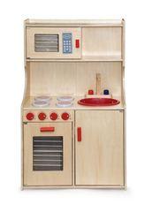 Viga Prírodná drevená kuchynka