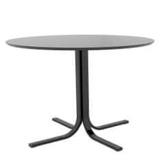 Danish Style Jedálenský stôl Jamie, 110 cm, čierna