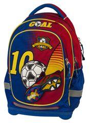 Target Školský batoh Goal červeno-modrý