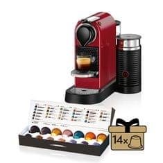 NESPRESSO XN760510 Nespresso Citiz& Milk Red