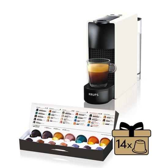 NESPRESSO Krups Essenza Mini XN1101 + Poukaz na šľahač mlieka Aeroccino 3 v hodnote 70 €