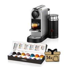 NESPRESSO ekspres kapsułkowy Krups XN760B10 Nespresso Citiz& Milk Tit