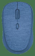 Trust mysz bezprzewodowa Yvi Fabric, niebieska (22629)