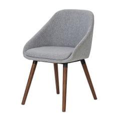 Danish Style Jídelní židle Nilen (SET 2 ks), šedá