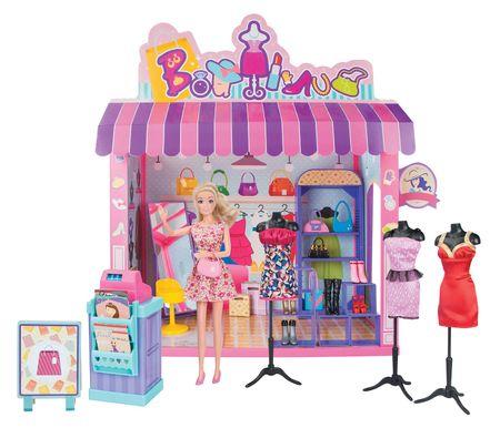 Lamps Panenka a obchod s oděvy