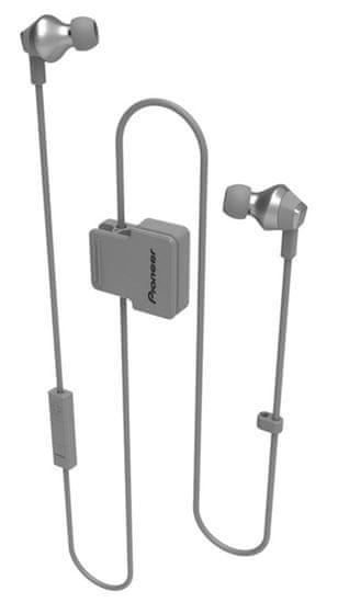 Pioneer SE-CL6BT bezdrátová sluchátka, šedá