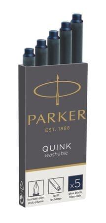 Parker bombice Quink, 5/1, temno modre