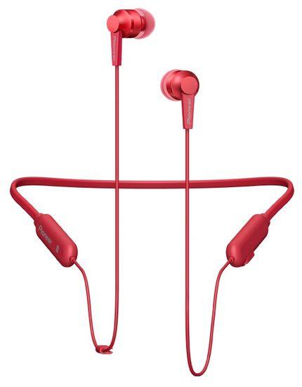 Pioneer SE-C7BT bezdrátová sluchátka, červená