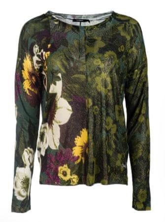 Desigual ženski pulover Floreado, S, zeleni