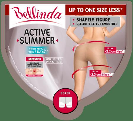 Bellinda ACTIVE SLIMMER BOXER černá S