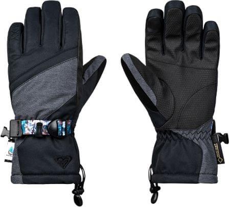 ROXY Damskie rękawiczki Crystal Gloves J Glov Kvj0 Czarny M