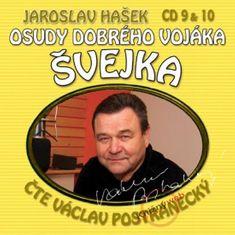 Hašek Jaroslav: Osudy dobrého vojáka Švejka (9 & 10) - KNP-2CD