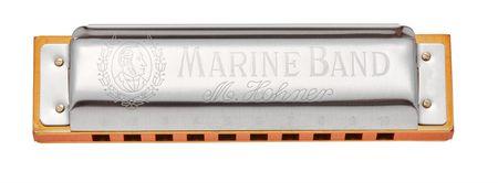 Hohner Marine Band 1896 D-natural minor Foukací harmonika
