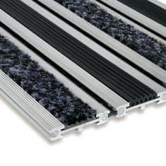 FLOMA Textilní gumová hliníková vstupní rohož Wella, FLOMA - 1,4 cm