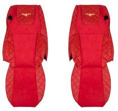 F-CORE Poťahy na sedadlá FX07, červené