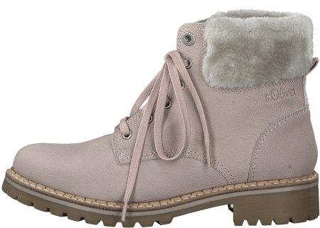 s.Oliver dámská kotníčková obuv 39 růžová