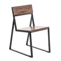 BHM Germany Jídelní židle dřevěná Mark, ořech