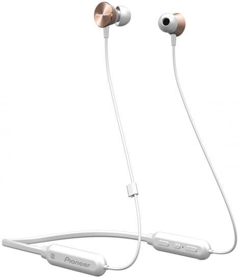 Pioneer SE-QL7BT bezdrátová sluchátka, růžová