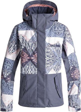 Roxy ženska jakna Rx Jetty Block J Snjt Bgb2 Powder Blue Animal Geo, XS