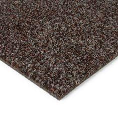 FLOMAT Tmavě hnědá kobercová vnitřní čistící zóna Catrine, FLOMAT - 1,35 cm